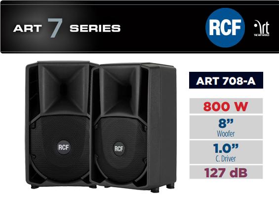 Speaker Aktif RCF ART 708-A MK2