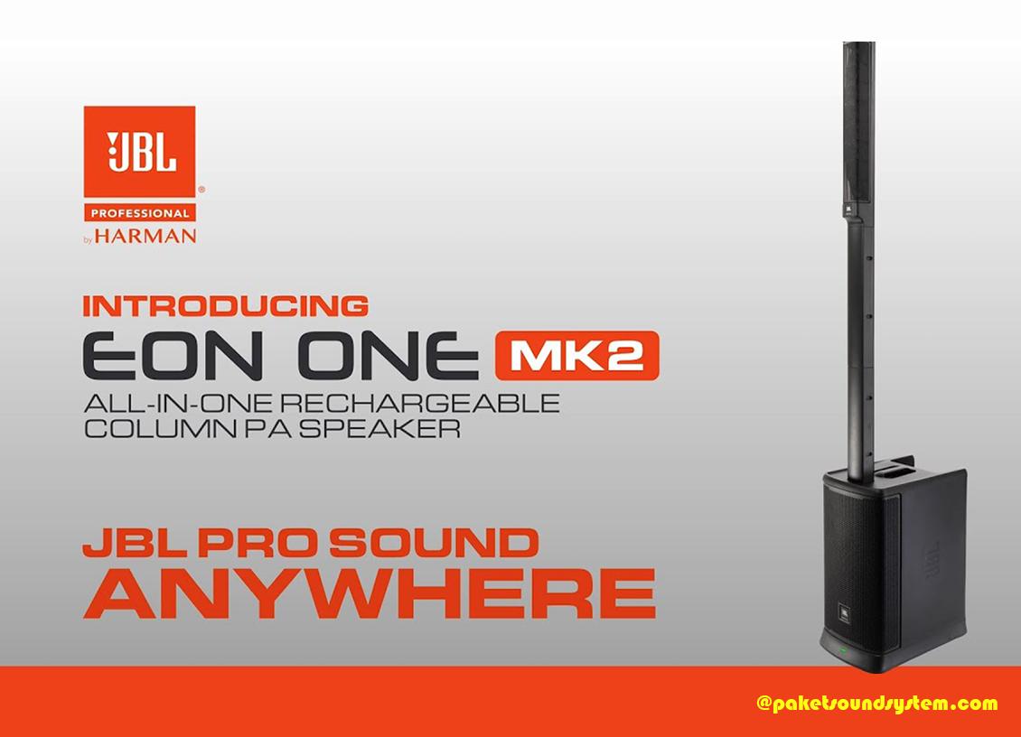 speaker sound system JBL PRO EON ONE MK2