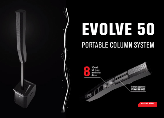 Speaker Sound System Electro Voice EVOLVE 50