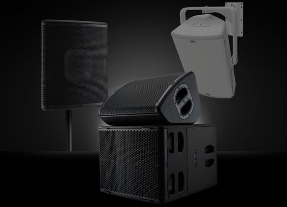 speaker sound system NEXO P+ Series