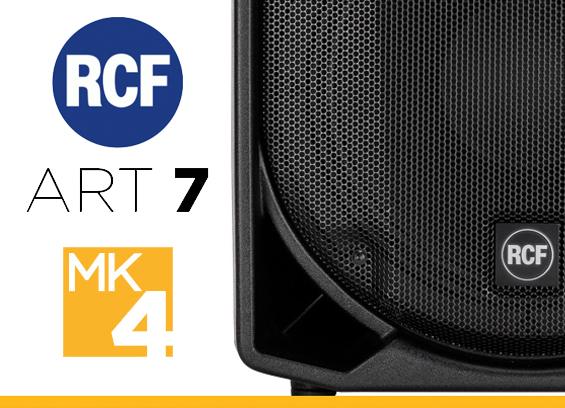 Speaker Sound System RCF ART 7 MK4