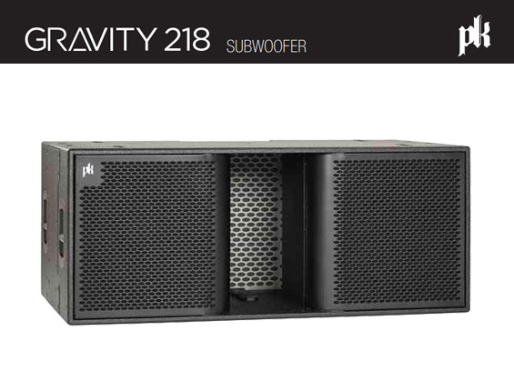 Subwoofer Aktif PK Sound Gravity 218