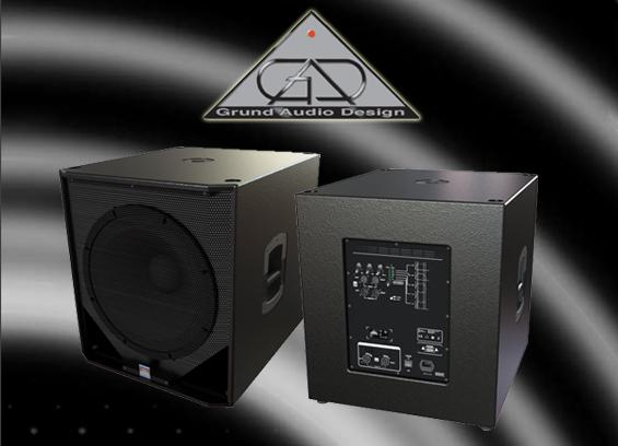 Speaker Subwoofer Aktif GAD Seri LC