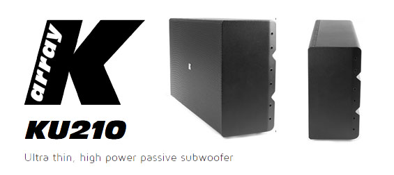 Subwoofer Pasif K-Array KU210