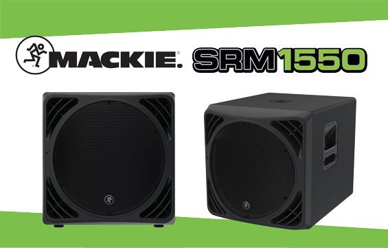 Speaker Subwoofer Aktif Mackie SRM1550